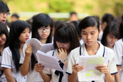 Hình ảnh cuộc thi tốt nghiệp THPT Quốc Gia